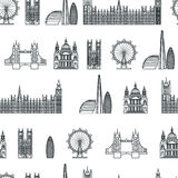 England seamless Pattern 1 Stock Photo