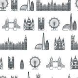 England seamless Pattern 1 Stock Photo