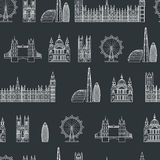 England seamless Pattern 1 Stock Photos