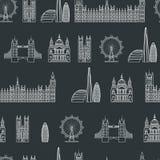 England seamless Pattern 1 Stock Photos