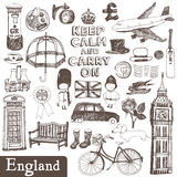England set Royalty Free Stock Photography