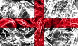 England smoke flag, flag of the state.  Royalty Free Stock Images