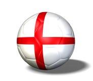 England Soccer Ball Royalty Free Stock Image