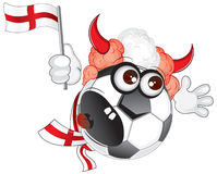 England soccer fan shouting Royalty Free Stock Photos