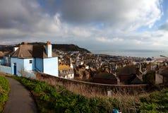 England South Coast view house cityscape Royalty Free Stock Photos