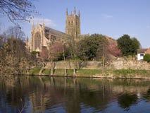 England, Stadt von Worcester lizenzfreies stockbild
