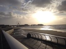 England-Strand Stockbild