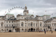 england strażników końska London parada Obraz Royalty Free