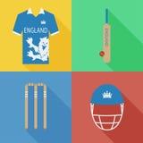 England syrsasymboler Arkivbilder