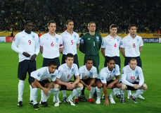 England Team Stock Photos