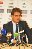 England team coach Fabio CAPELLO Stock Images