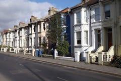 england terrasserar victorianen Royaltyfri Foto