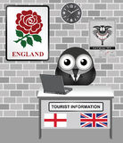 England Tourist Information Stock Photo