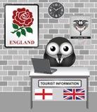 England Tourist Information Stock Photo