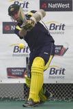 England 2012 V Australien den 4th en daginternationalen förtjänar perioder Fotografering för Bildbyråer