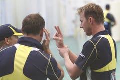 England 2012 V Australien den 4th en daginternationalen förtjänar perioder Arkivfoto