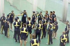 England 2012 V Australien den 4th en daginternationalen förtjänar perioder Royaltyfri Foto