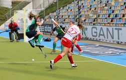 England v Ireland Hockey European Cup Germany 2011 Royalty Free Stock Photography
