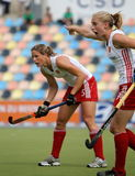 England v Ireland.Hockey European Cup Germany 2011 Royalty Free Stock Photography