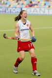 England V Ireland.Hockey European Cup Germany 2011 Royalty Free Stock Photos