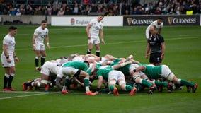 England v Ireland - Six Nations Championship match at Twickenham