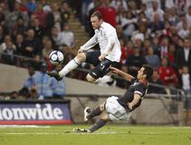 England v. USA Soccer Friendly Stock Images