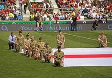 Rugby Union at Twickenham Stock Photo