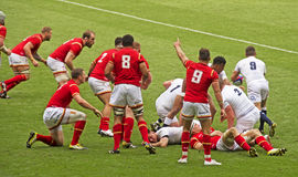 England v Wales Rugby Union at Twickenham Stock Photography