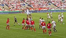 Rugby Union at Twickenham Royalty Free Stock Images