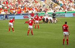 England v Wales Rugby Union at Twickenham Royalty Free Stock Photo