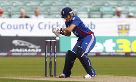 England v West Indies Women's T20 International Cricket Match Stock Photography