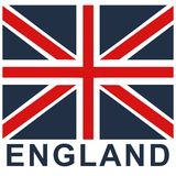 England. Vector illustration for children clothes for wallpaper Royalty Free Stock Photos