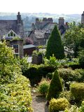 England: view of hillside houses in Kendal Stock Photo