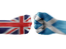 England x scotland Royalty Free Stock Image