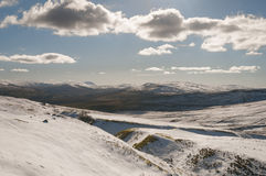 England. Yorkshire dales. March 2016 stock photography