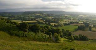 Englands-Landschaft Stockfoto