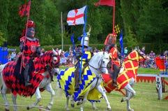 Englisch adelt Hever-Schloss-turnierendes Turnier Stockbild