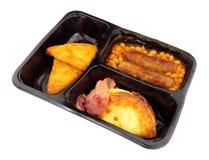 Englisch-den ganzen Tag Frühstücks-Fertiggericht lizenzfreie stockbilder