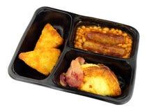 Englisch-den ganzen Tag Frühstücks-Fertiggericht stockbilder