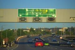 Englische Autobahn A2 Lizenzfreies Stockfoto