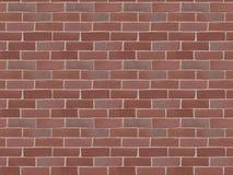 Englische Backsteinmauer Lizenzfreies Stockfoto
