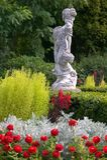 Englische Gartenszene lizenzfreie stockfotografie