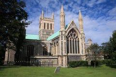 Englische Gemeindekirche Stockbild