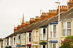 Englische Häuser Lizenzfreie Stockbilder