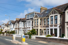 Englische Häuser Stockfoto