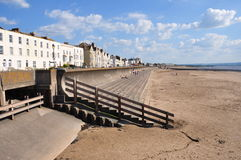 Englische Küste Stockfotografie