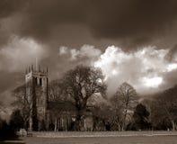Englische Kirche. Lizenzfreies Stockbild