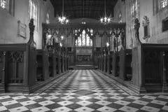 Englische Kirche Stockfotografie