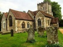 Englische Kirche Lizenzfreie Stockfotos