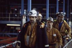 Englische Kohlen-Bergmänner Lizenzfreies Stockfoto